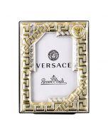 Рамка для фотографий Versace Frames золотая с серебром, 4х6 см