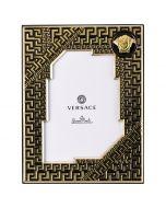 Рамка для фотографий Versace Frames черная, 9х13 см