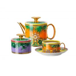 Чайный сервиз Jungle Animalier, 8 предметов