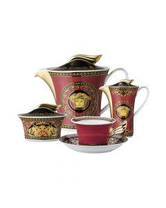 Чайный сервиз Medusa на 6 персон, 9 предметов