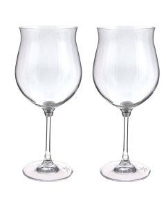 Дегустационные бокалы Grand Cru и Bordeaux Gira e Rigira (2 шт), серебряные