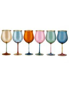 Бокалы для вина (6 шт) Dolce Vita/Arlecchino
