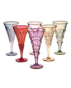 Бокалы для шампанского (6 шт) Dolce Vita/Six