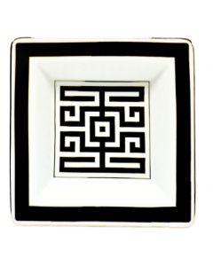 Мелочница LABIRINTO NERO черная, 18x18 см