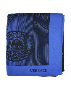 Плед Medusa синий, 150х180 см