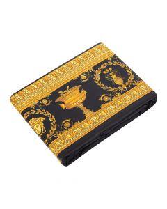 Пододеяльник Barocco and Robe черно-золотой, 220х220 см