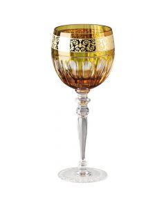 Бокал для красного вина янтарный