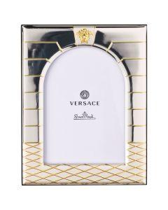 Рамка для фотографий Versace Frames серебряная, 9х13 см