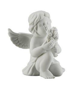 """Фигурка  """"Ангел с цветами"""" 10 см"""