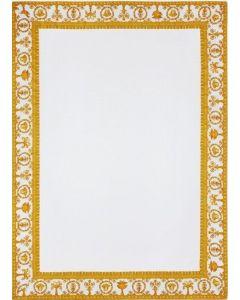 Хлопковый плед Diffusion белый, 145x195 см