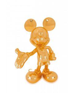 Cкульптура Welcome Mickey золотая, 30 cм
