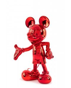 Cкульптура Welcome Mickey красная, 30 cм