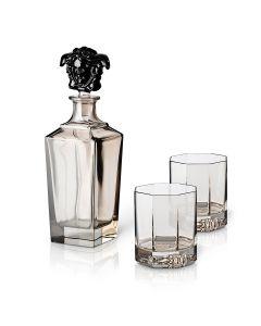 Декантер и бокалы для виски (2 шт.)