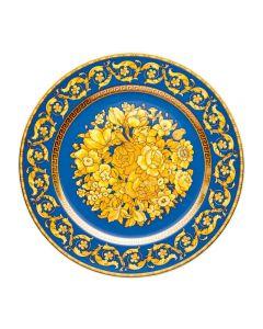 Тарелка юбилейная Floralia Blu, 18 см