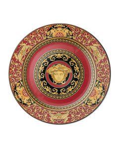 Тарелка юбилейная Medusa красная, 18 см