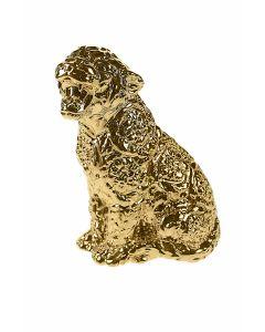Объект декоративный 23x29см золотой