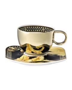 Пара для эспрессо золотая