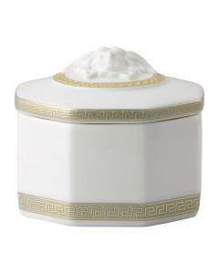 Шкатулка Gorgona белая, 9 см