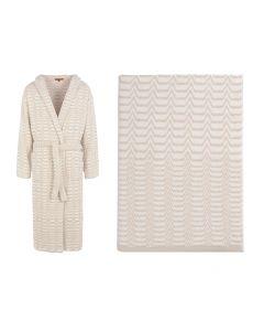 Набор из халата и полотенца