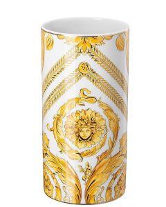 Ваза Medusa Rhapsody золотая, 24 см, Versace