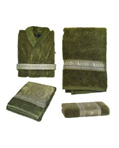 Набор из халата и полотенец