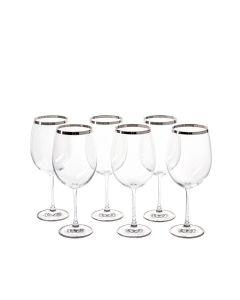 Бокалы для вина (6 шт) коллекции Platinum