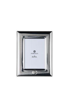Рамка для фотографий Versace Frames серебряная, 10х15 см